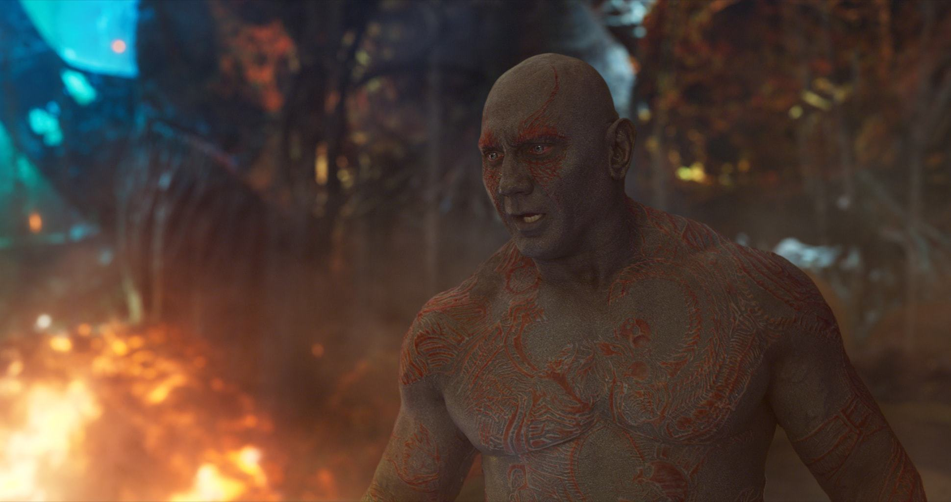 On Set and Behind the Scenes with Dave Bautista of Guardians of the Galaxy Vol 2