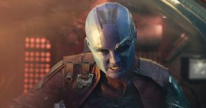 """Exclusive Chat with Karen Gillan """"Nebula"""" from Guardians of the Galaxy Vol 2"""
