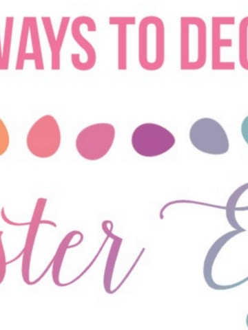 How many ways can you think of for Easter Egg decorating? I think no matter how old my kids are, they will always think about decorating eggs when Easter rolls around.