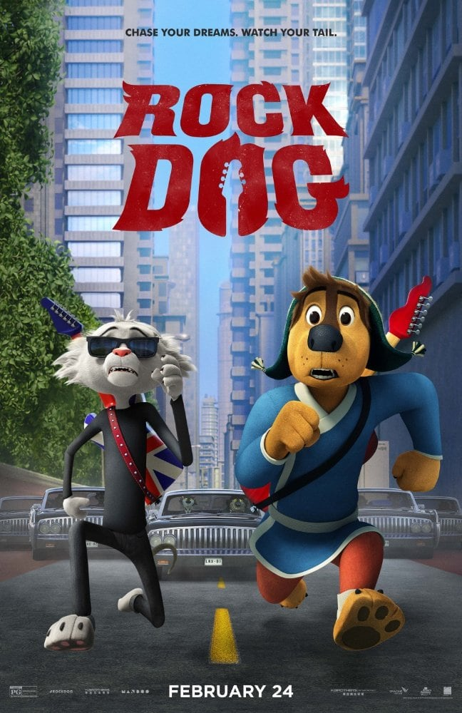 Rock Dog, a new Summit Premiere film about chasing your dreams and watching your tail, hits theaters today, and this is one you don't want to miss.
