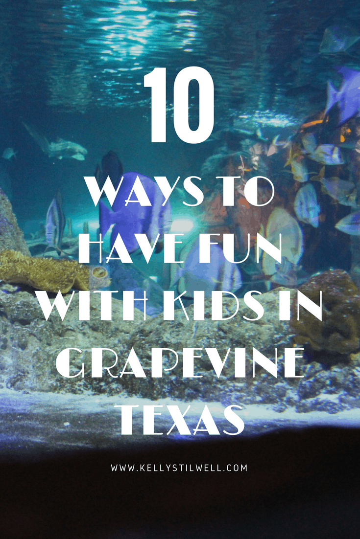 If you're looking for things to do with kids in Grapevine, I have some fun ideas for you! I've had the pleasure of visiting Grapevine Texas twice now, and I can't wait to go back!
