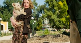 Jessica Chastain Talks The Zookeeper's Wife