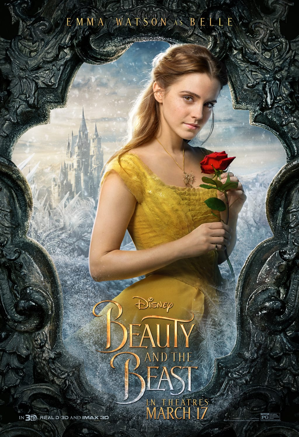 Disney's live-action Beauty and the Beast hits theaters two weeks from today! I remember the first time I saw this was in the works and thinking it was so beautiful!