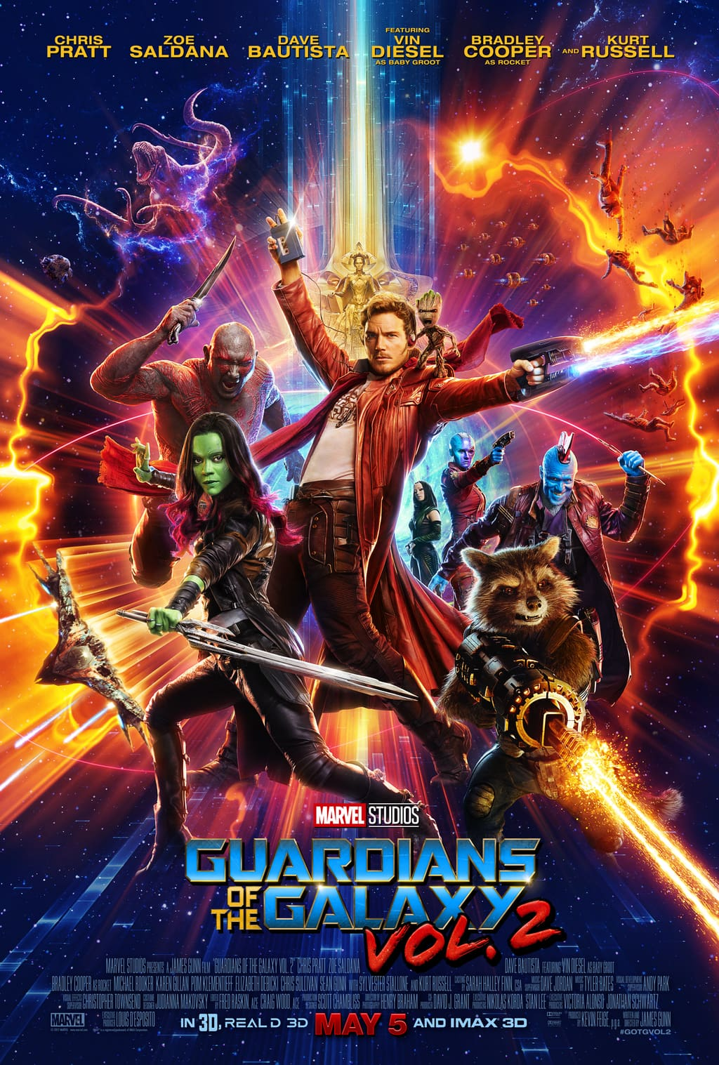 We're getting closer and closer to that May release date for Guardians of the Galaxy Vol 2, and I'm getting more and more excited!