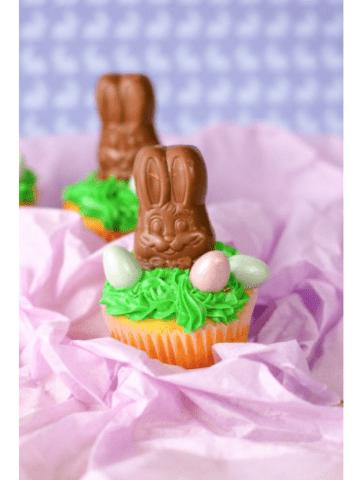 Easter desserts trio.