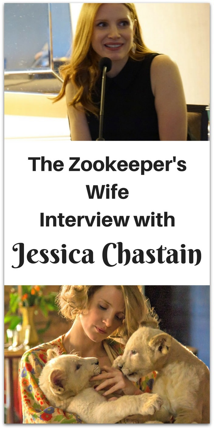 The Zookeeper's Wife is a new film from Focus Features released in theaters on March 30, 2017. Based on the book of the same name by Diane Ackerman, the film is directed by Niki Caro and stars Jessica Chastain.