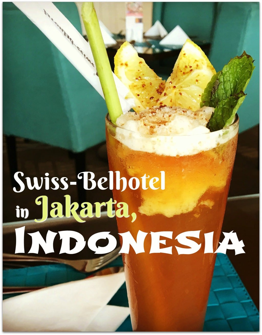 If you're looking for a place to relax after flying into Jakarta, the Swiss Belhotel Airport is wonderful!
