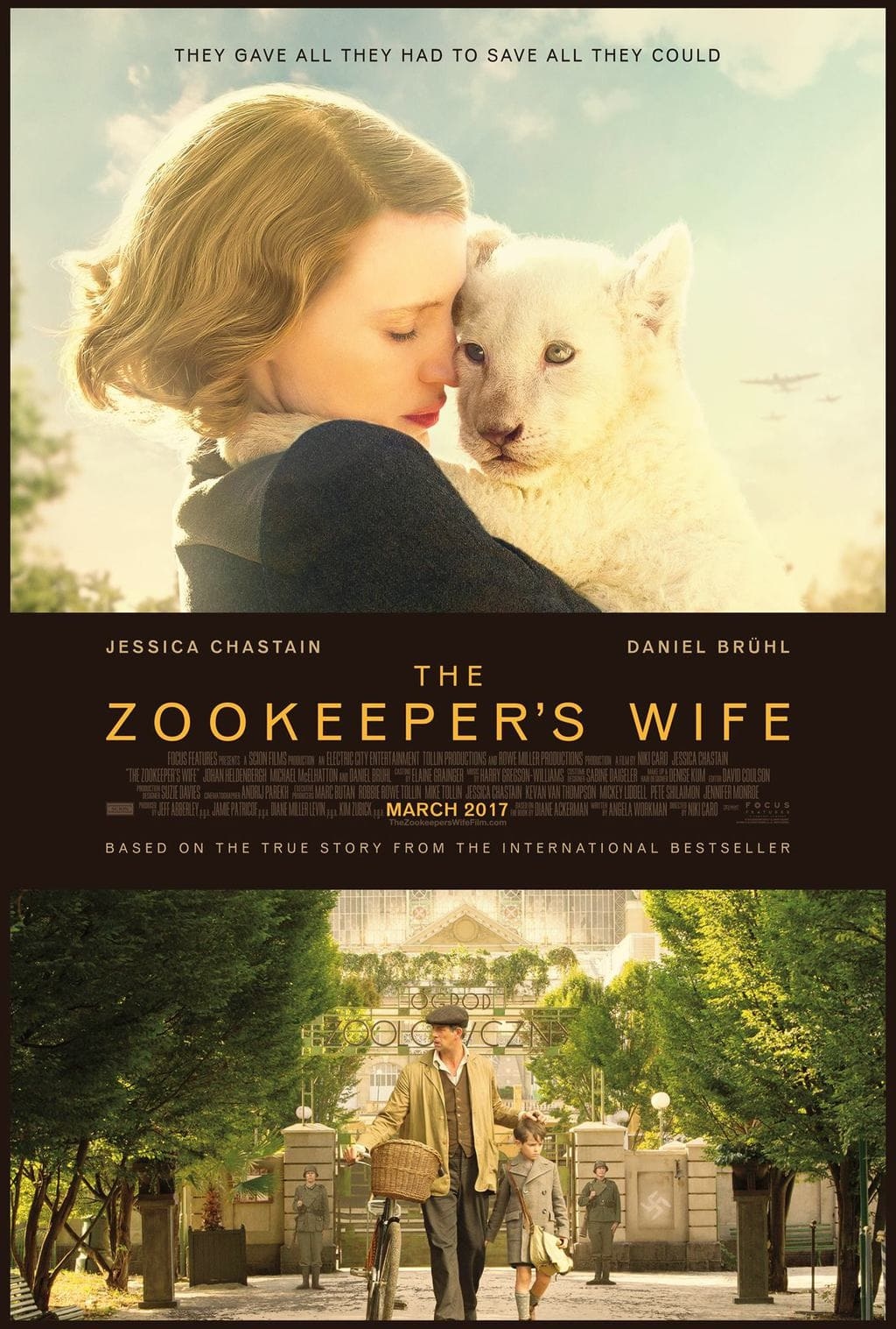 Have you been following along with the making if The Zookeepers Wife?