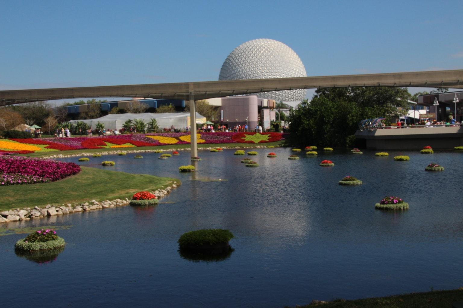 I've lost count at how many times I've been to the Epcot Flower and Garden Festival over the 20-plus years it's been going on, but it's a lot! And there's a good reason for that. This is a garden party that is a feast for your all your senses!