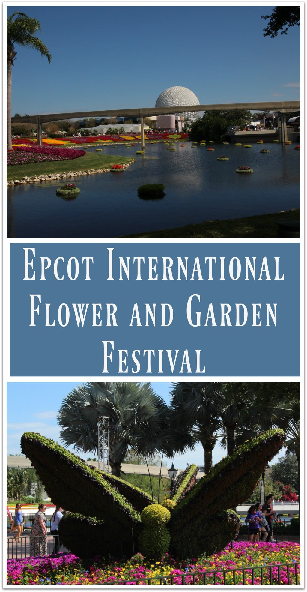 I've lost count at how many times I've been to the Epcot International Flower and Garden Festival over the 20-plus years it's been going on, but it's a lot! And there's a good reason for that. This is a garden party that is a feast for your all your senses!