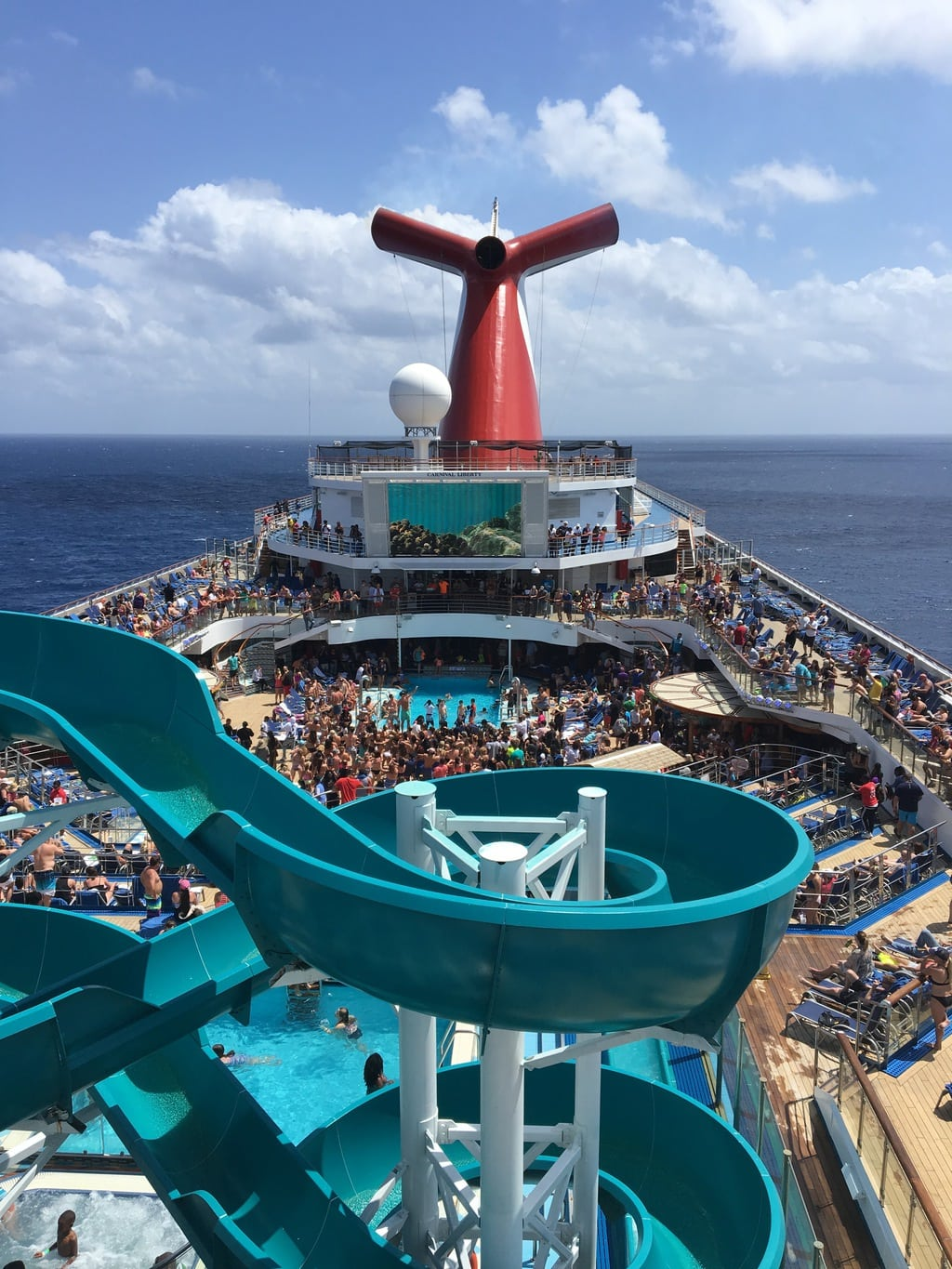 I have been talking to my sister about doing a girls getaway for a couple of years now. We finally decided to do it, and chose a 3-day cruise to the Bahamas with Carnival!