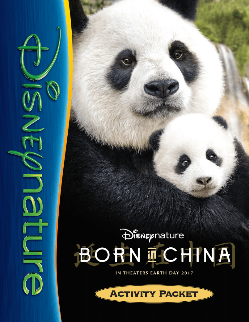 The absolutely adorable Born in China is finally in theaters, and this is one you really want to see on the big screen!