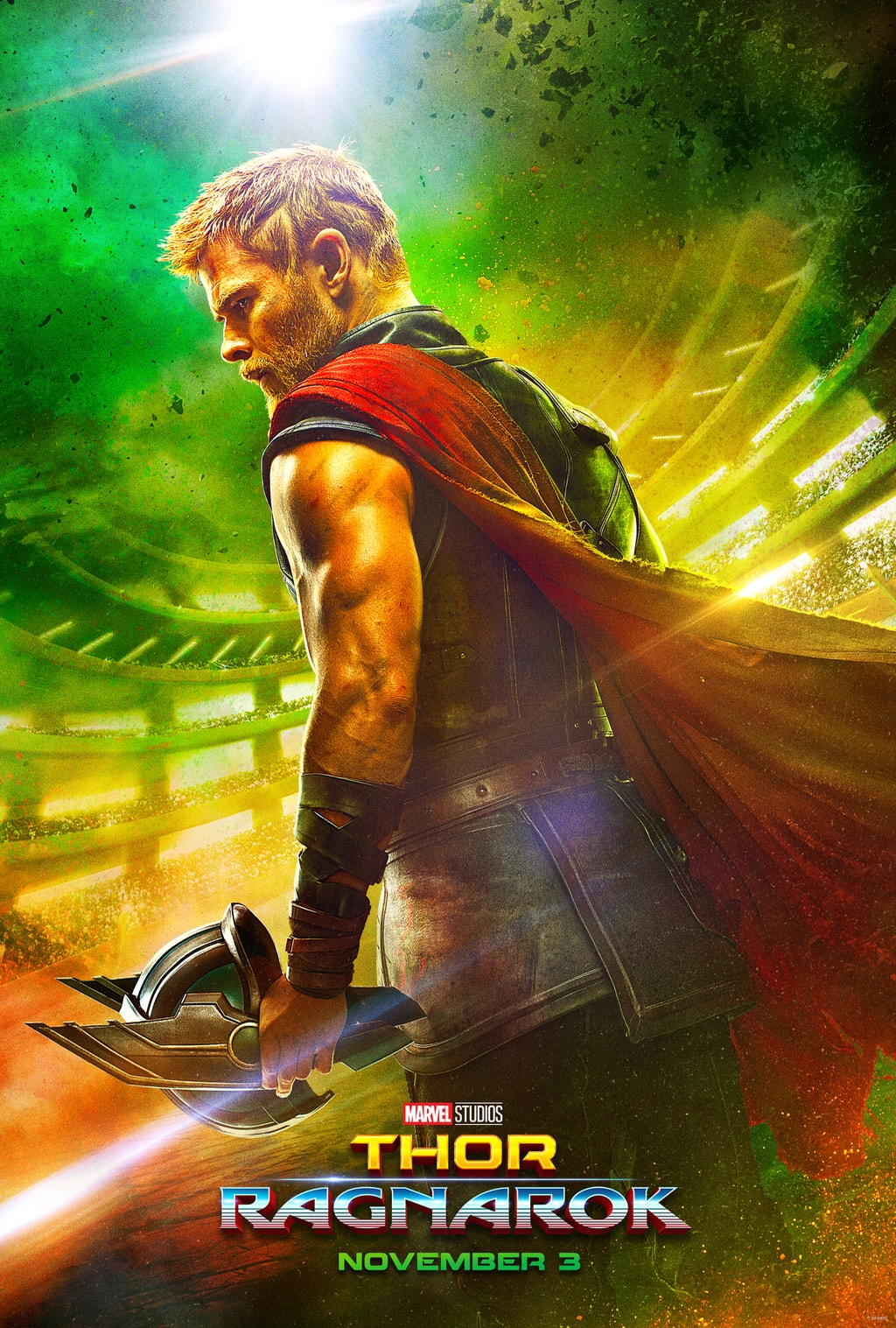 We finally have a first look at Thor Ragnarok! You may remember a few years ago when I went to the red carpet event and interviewed some of the cast of Thor The Dark World.