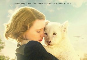 The Zookeeper's Wife is a new film that tells the story of Antonina and her husband Jan Żabiński. The Żabińskis owned a private zoo in Warsaw, in the 1930s and helped smuggle 300 Jews out of the deadly Warsaw ghetto hiding them in their villa at the zoo.