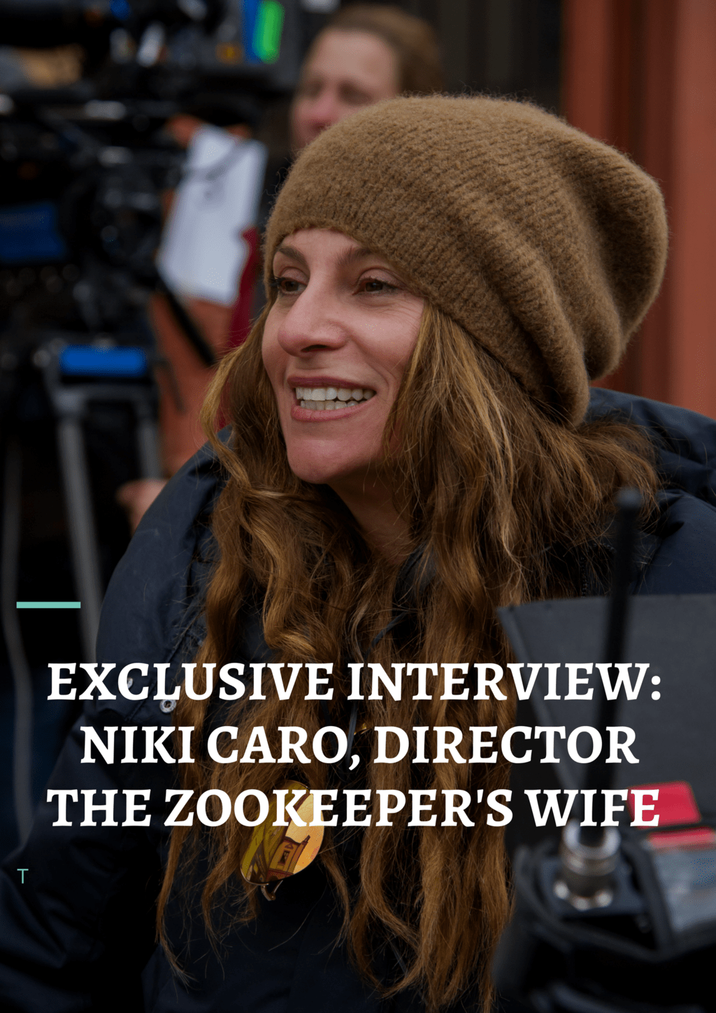 Focus Features sent contributor Anne Parris from Not a Supermom to New York City to screen the new movie, The Zookeeper's Wife, and to interview director Niki Caro.