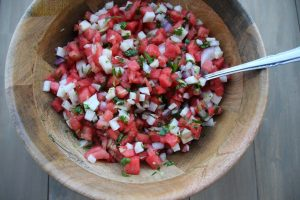 Delicious Watermelon Jicama Salsa from Carnival