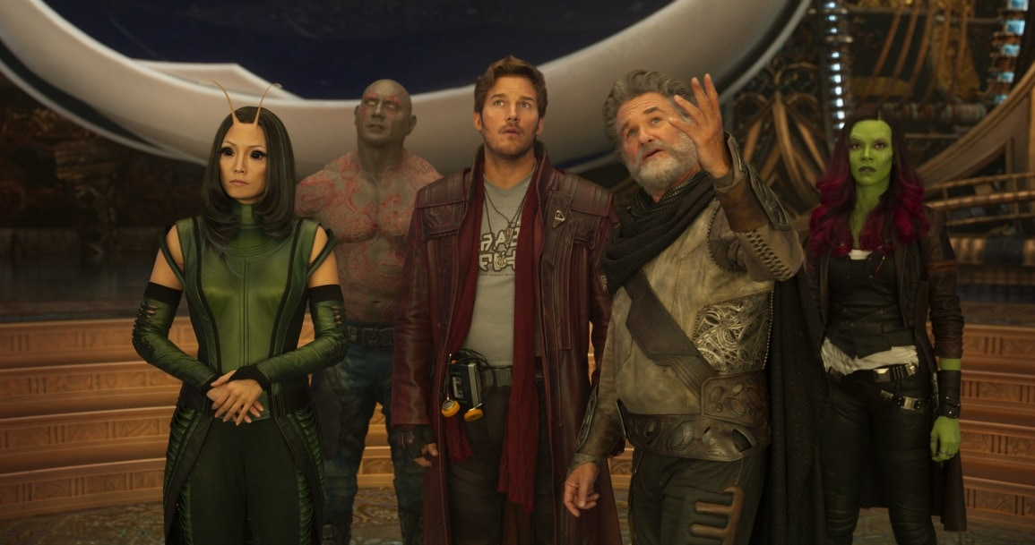 The wait is over for Guardians of the Galaxy Vol 2.