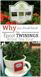Twinings Royal Tea Tour at Epcot