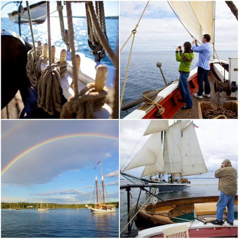Our family is heading to Maine June 21 - 26 to experience sailing along the rocky coast on the historic Maine Windjammer, Schooner J.& E. Riggin