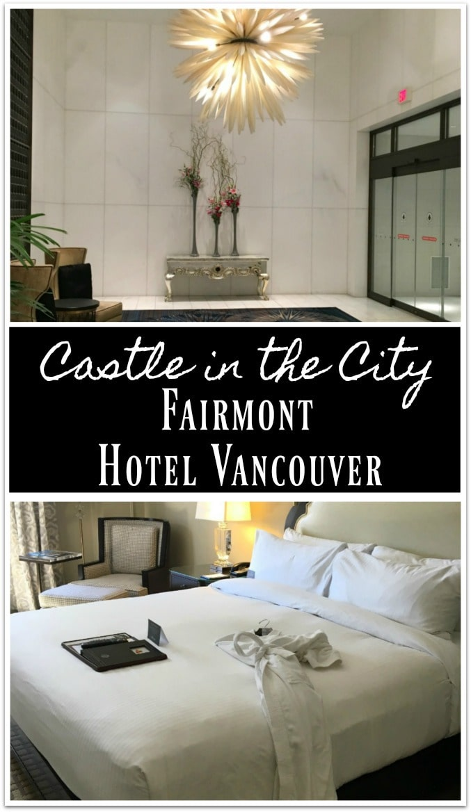 Last month when I flew to Vancouver to board the Rocky Mountaineer, my first night was spent at the incredible Fairmont Hotel Vancouver.