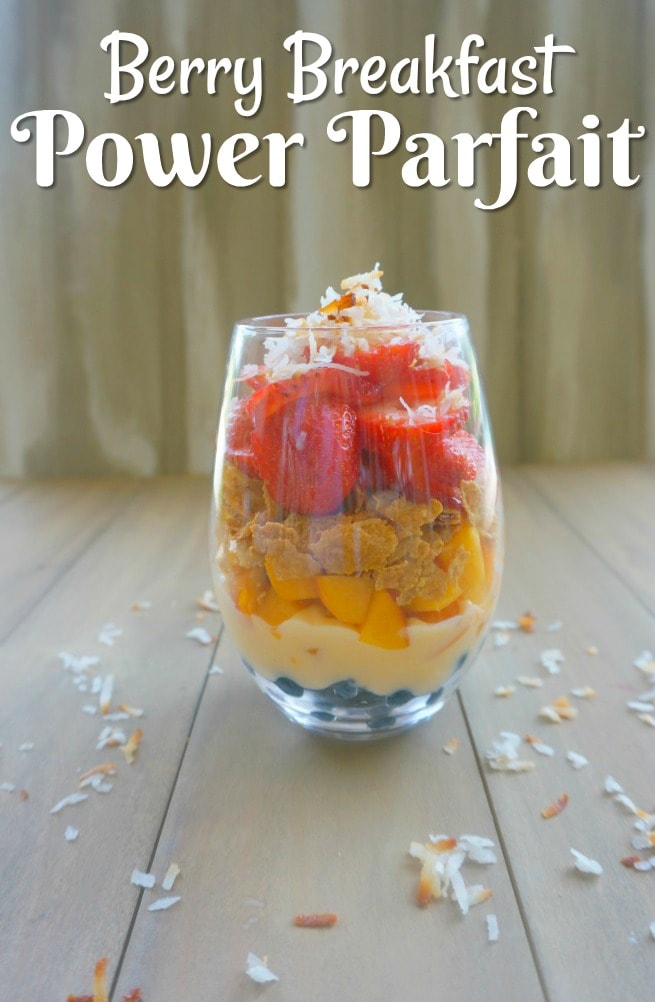 Who doesn't love the deliciousness of a Berry Breakfast Parfait? So easy and better for you than a typical breakfast or snack, this is a way to start making little changes that could impact the way you feel.