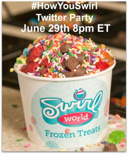 #HowYouSwirlWorld Twitter Party with RaceTrac on June 29 at 8 PM ET!