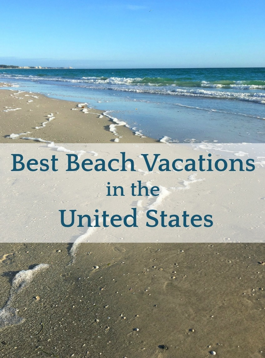 Want to know where to go for the best beach vacations in the US? I am all about the beach.