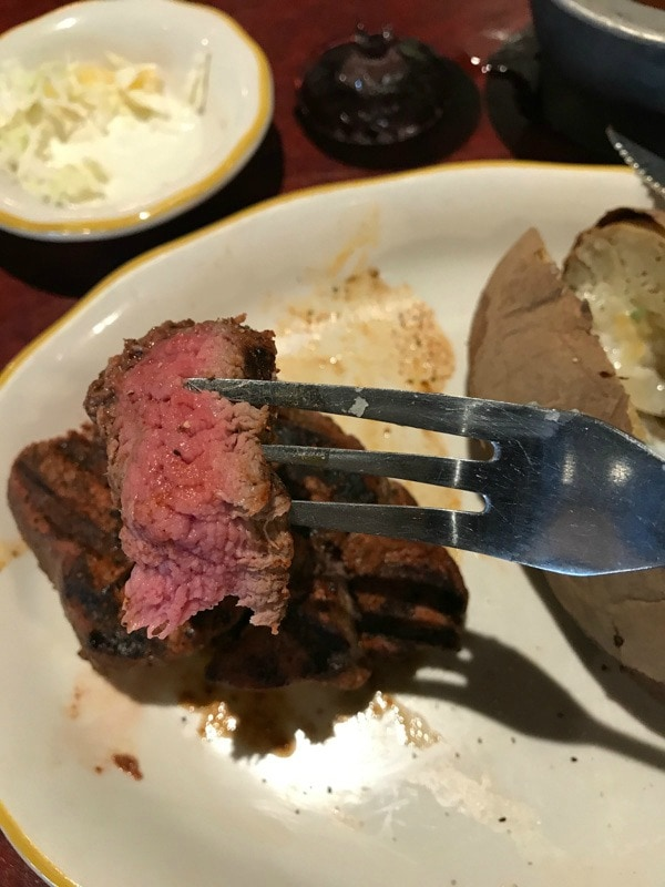 If you're looking for a fabulous meal and a little adventure in El Paso, head to Cattleman's. Though I heard it would surprise me, I was still shocked!