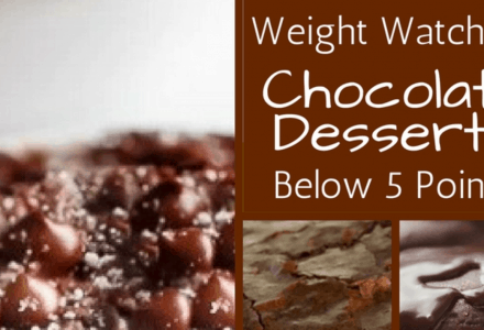 Delicious and Decadent Weight Watchers Chocolate Desserts