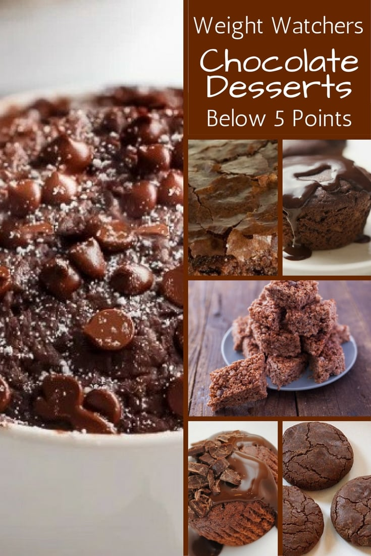 Knowing their are truly decadent Weight Watchers chocolate desserts for satisfying that sweet craving makes me feel like I really can do Weight Watchers without missing out.