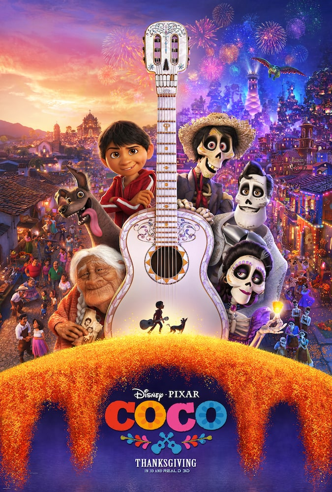It was over two years ago when I was at D23 in Anaheim and saw the first glimpse of what would be Disney Pixar's COCO, the latest animated film from the most celebrated Disney partnership.