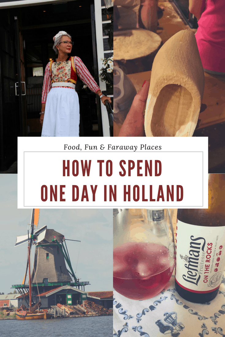 Pinterest image things to do in Holland