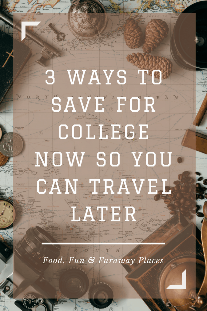 It's no secret that I love to travel.  Everyone I speak with wants to travel, but many say they can't afford it. Especially if you have kids, the expenses can be huge when it comes to funding college.