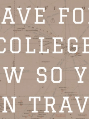 It's nosecret that I love to travel. Everyone I speak with wants to travel, but many say they can't afford it. Especially if you have kids, the expenses can be huge when it comes to funding college.