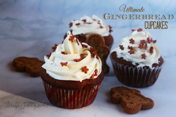 There will be hundreds of mouthwatering gingerbread recipes in the form of cookies, cupcakes, cakes, and even houses, adorning tables everywhere in December. Christmas brings out all the gingerbread desserts, though I like it all year long.