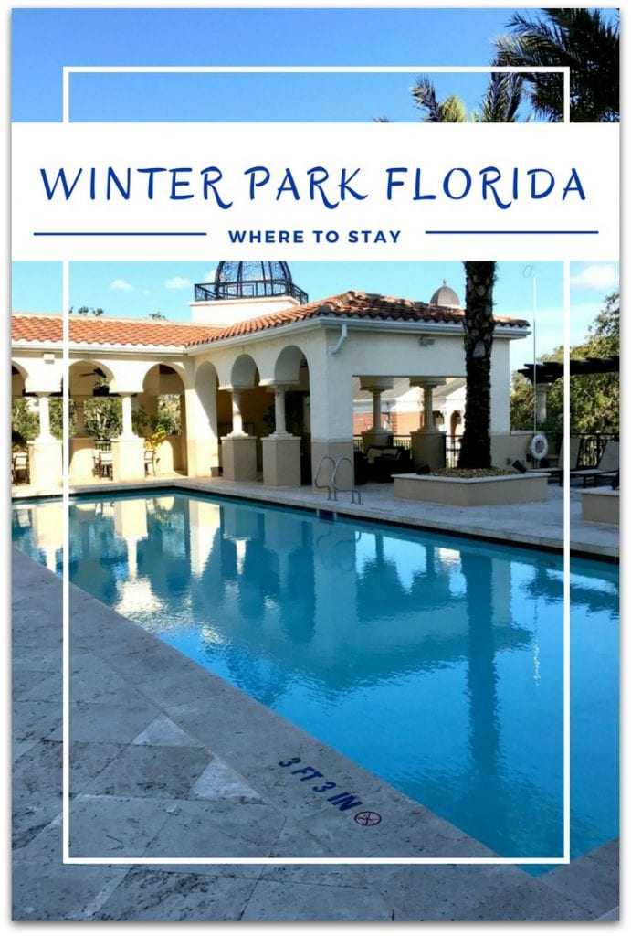 Wondering where to stay in Winter Park Florida? I've just discovered the Alfond Inn, and I'm adding it to my list of top five places I've stayed.