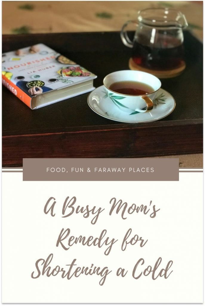 As a busy mom and frequent traveler, I don't have time to get sick.If there is something I can do to shorten the duration of a cold, I'm all for it!