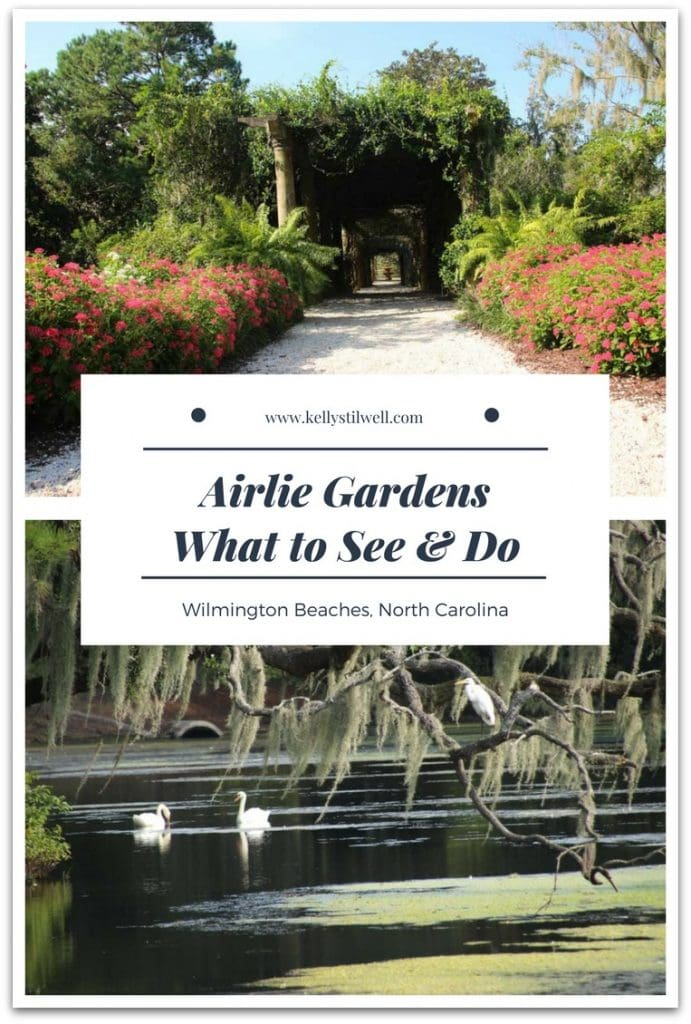I walked around Airlie Gardens near Wilmington, and I finally understand why so many television shows were filmed there. My pictures don't do it justice!