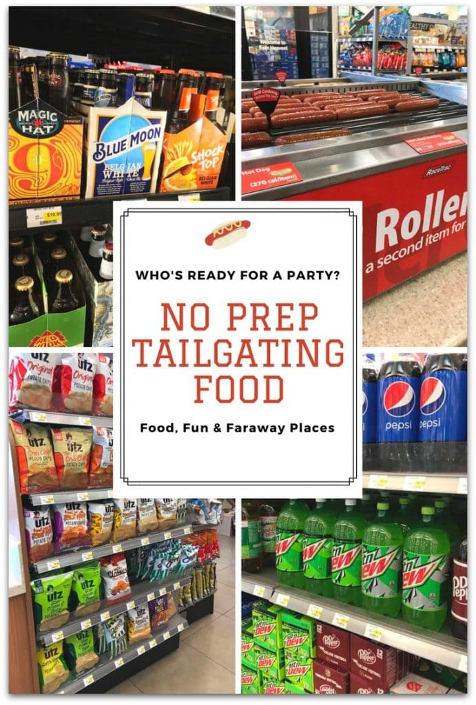 It's tailgating season and that means it's party time! And what could be easier than no prep tailgating food?