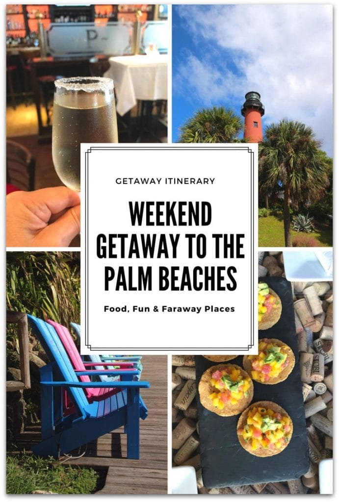 A couple of weeks ago I headed south here in Florida for a Palm Beaches getaway. I've been to West Palm Beach before, but it was many years ago and a quick trip. I wanted to experience the area as there is so much to do.