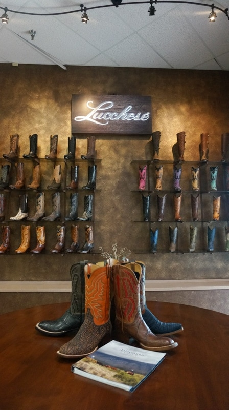 Handmade Boots in El Paso Texas - Lucchese Boots - Food Fun & Faraway Places