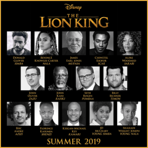 In case you've been wondering, it was just announced that Beyonce will be the voice of Nala, Simba's love interest in the all-new take on Disney's 1994 classic animated film The Lion King!