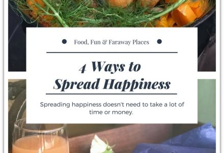 4 Easy Ways to Spread Happiness