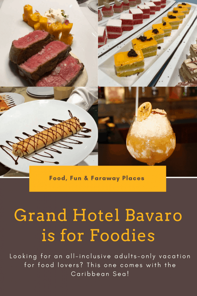 If you are looking for a Caribbean vacation with stellar food, the Grand Hotel Bavaro is one of the best resorts in Punta Cana for foodies.