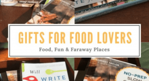 Wondering what to get the food lovers in your life for Christmas, birthday, or special occasion? I am a serious foodie. When I say that, I don't just mean I love to eat food.