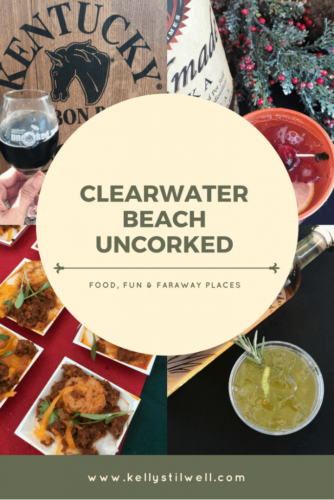 One of the top Clearwater Beach Events each year is Clearwater Beach Uncorked. With your toes in the sand and a drink in your hand, there really isn't a better way to spend a Fall day at the beach.