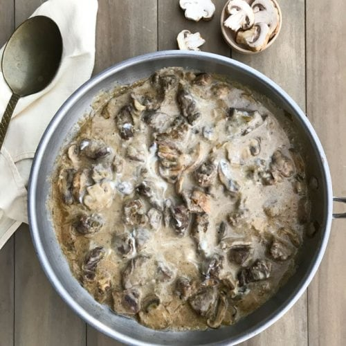 This gourmet beef stroganoff is so easy, you won't believe how amazing it tastes! Don't you hate it when a recipelooks delicious and then you realize it takes hours to make?
