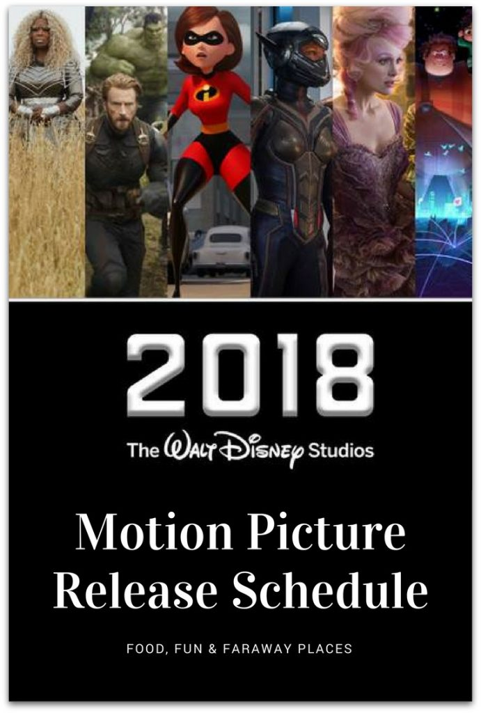Who else is excited about the Walt Disney Studios Motion Pictures release schedule?