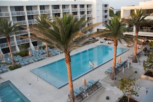 Living within 30 minutes from the Gulf of Mexico, I was so excited when I heard about a new Longboat Key resort right on the water.