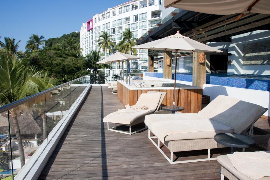 Puerto Vallarta all-inclusive family trip deck